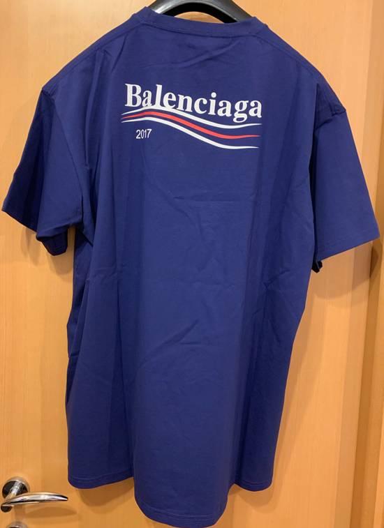 Balenciaga Balenciaga 2017 Bernie Logo T-shirt Size US M / EU 48-50 / 2 - 1