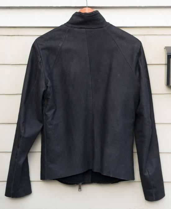 10sei0otto Oiled Calf Leather Jacket Size US M / EU 48-50 / 2 - 3