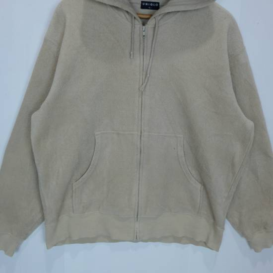 Uniqlo Vintage 90's UNIQLO Zipper Up Fleece Hoodie Sweatshirts Size US L / EU 52-54 / 3 - 1