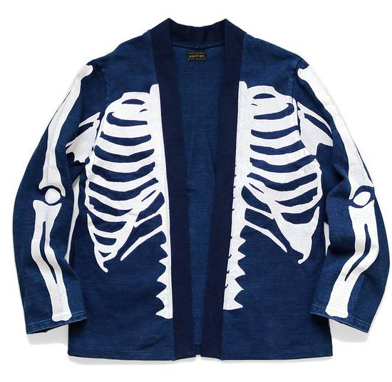 Kapital KAPITAL IDG indigo kakashi cardigan kimono bone Japan 2 Size US M / EU 48-50 / 2