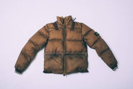 Stone Island Opaque Nylon Tela 30GR Down Jacket w/ Diagonal Cover Size US L / EU 52-54 / 3 - 3
