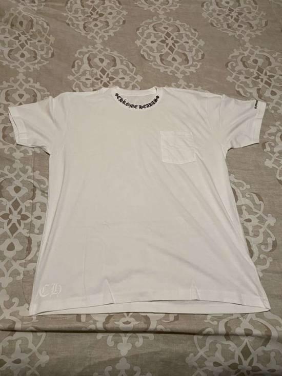 Chrome Hearts CH Neck Collar Logo Fuck You Pocket T-Shirt Size US XL / EU 56 / 4 - 1