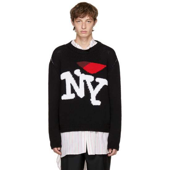 Raf Simons I Heart NY Sweater (Black) Size US M / EU 48-50 / 2
