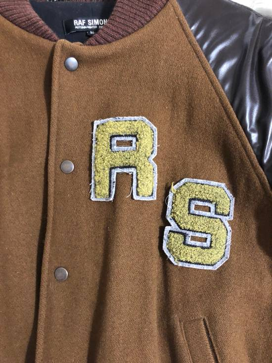 Raf Simons Virginia Creeper Brown Varsity Jacket Size US M / EU 48-50 / 2 - 5