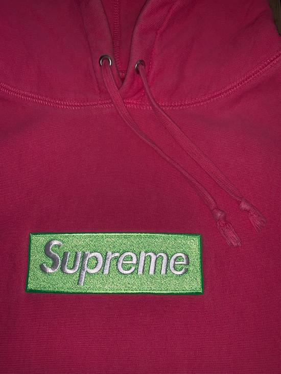 Supreme Supreme Box Logo Hoodie FW17 Size M Magenta Size US M / EU 48-50 / 2 - 1