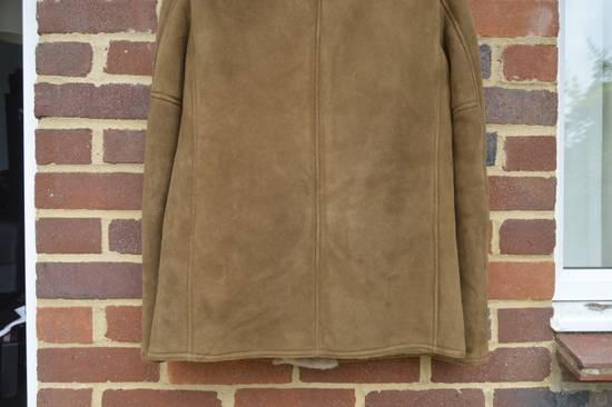 Saint Laurent Paris Hedi's Personal Suede and Shearling Coat Size US S / EU 44-46 / 1 - 9