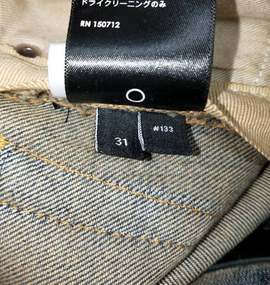 Amiri Dirty Indigo Glitter Track Jeans Size US 31 - 7