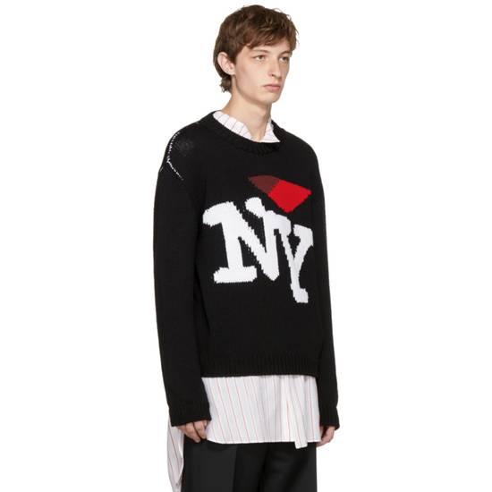 Raf Simons I Heart NY Sweater (Black) Size US M / EU 48-50 / 2 - 1