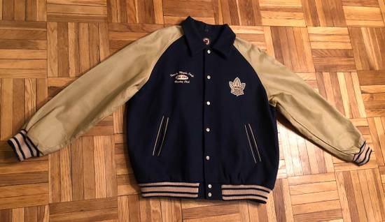 Nhl Toronto Maple Leafs Leather Wool Varsity Jacket Xl Grailed