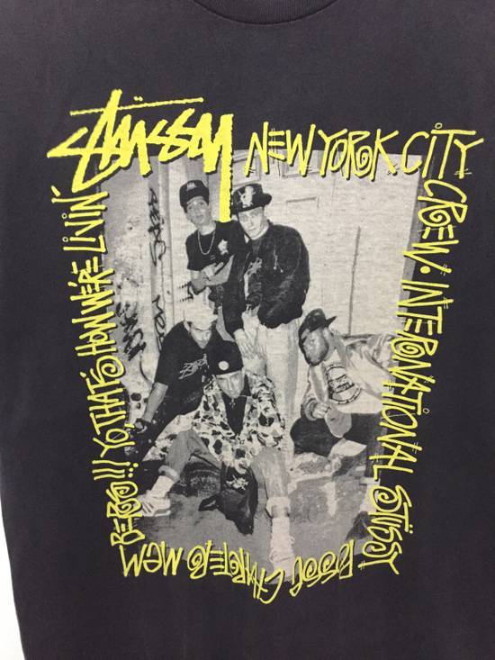 Vintage A piece of History picture New York Crew tee Size US L / EU 52-54 / 3 - 5