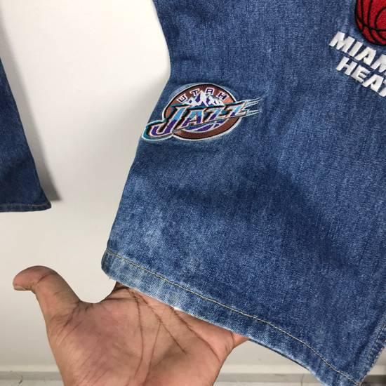 Vintage 💥NEED GONE💥BD7 Vintage All Team NBA Fullprint Denim Pants Size US 38 / EU 54 - 10
