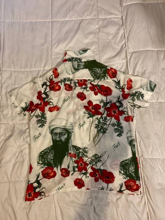 """Fuct Fuct Osama Bin Laden """"War On Drugs"""" button up Size US L / EU 52-54 / 3 - 4"""