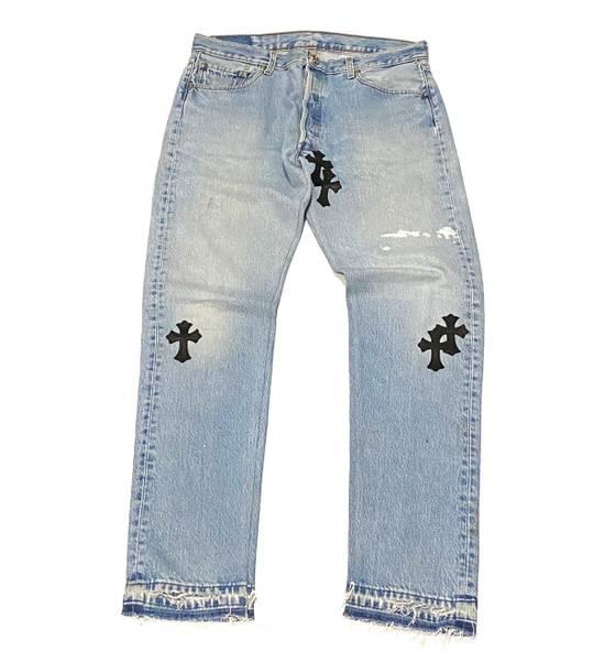 Chrome Hearts Chrome hearts cross patch denim jeans Size US 34 / EU 50