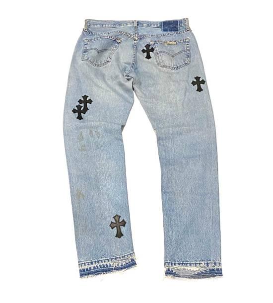 Chrome Hearts Chrome hearts cross patch denim jeans Size US 34 / EU 50 - 1