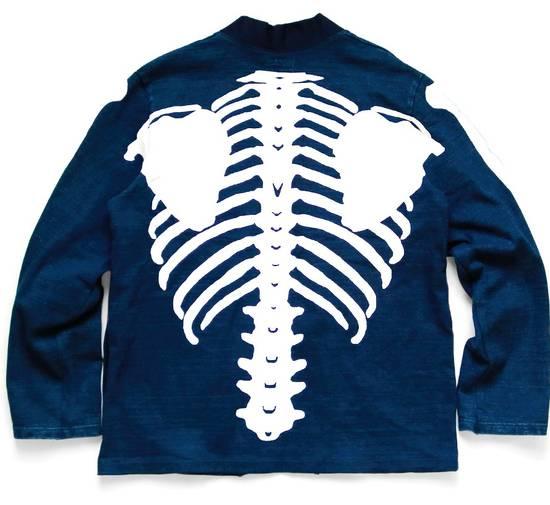 Kapital KAPITAL IDG indigo kakashi cardigan kimono bone Japan 2 Size US M / EU 48-50 / 2 - 2