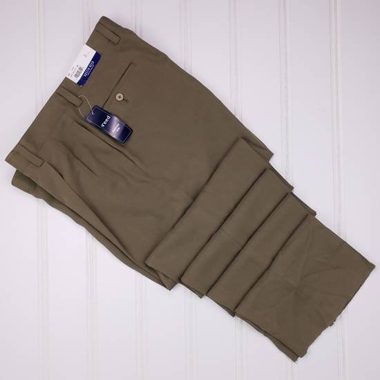 Austin Reed Austin Reed Silk Pants 36x41 Olive Green New Trouser Mens Grailed