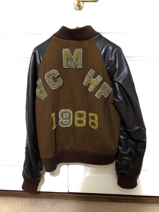 Raf Simons Virginia Creeper Brown Varsity Jacket Size US M / EU 48-50 / 2 - 4