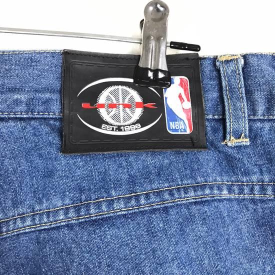 Vintage 💥NEED GONE💥BD7 Vintage All Team NBA Fullprint Denim Pants Size US 38 / EU 54 - 8