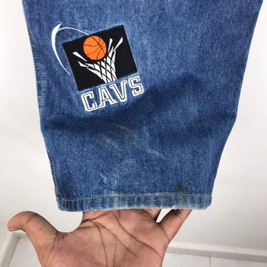 Vintage 💥NEED GONE💥BD7 Vintage All Team NBA Fullprint Denim Pants Size US 38 / EU 54 - 9