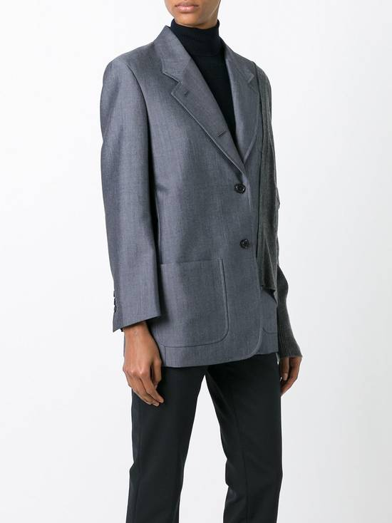 Thom Browne FW16 Runway Reconstructed Blazer Cashmere Cardigan Sweater Size 34S - 13