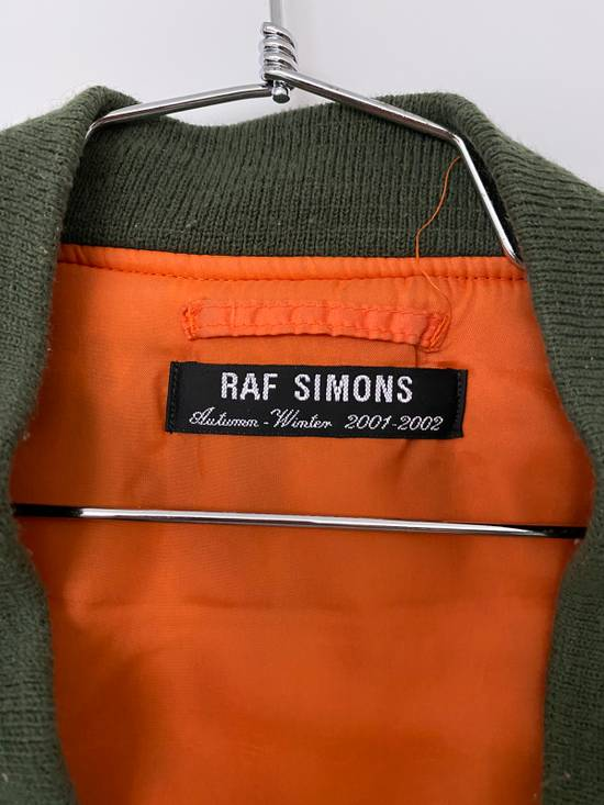 Raf Simons Riot Riot Riot Green Camo Bomber Size US XL / EU 56 / 4 - 1