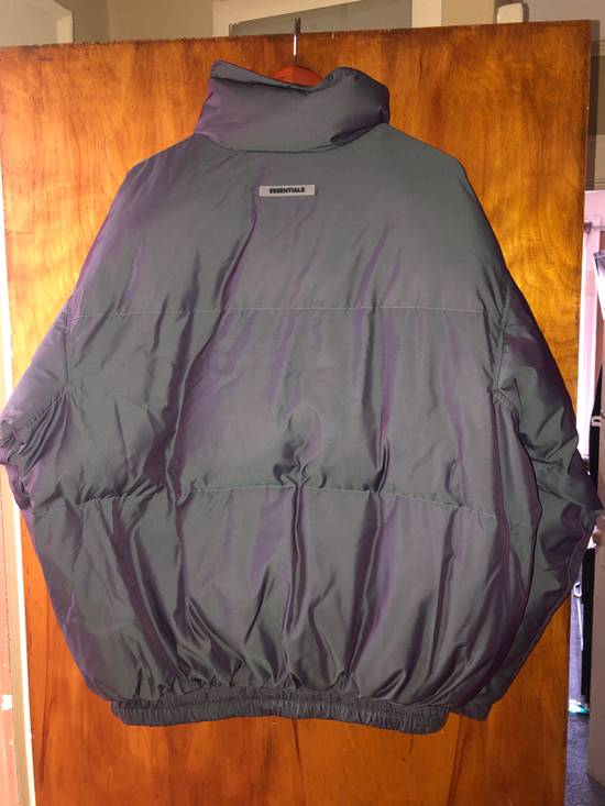 Pacsun Fear of god essentials puffer jacket-iridescent Size US L / EU 52-54 / 3 - 4