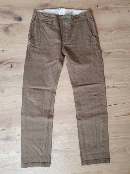 Samurai Jeans SAMURAI JEANS SJ42CP 15OZ. HEAVY CHINO PANTS Size US 35