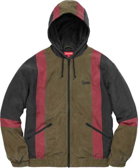 Supreme Silk Hooded Jacket - Black Size US L / EU 52-54 / 3