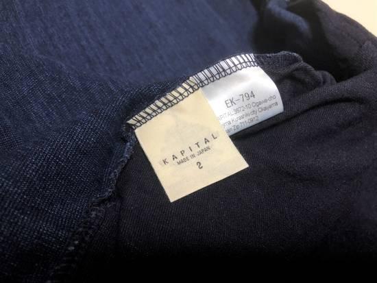 Kapital KAPITAL IDG indigo kakashi cardigan kimono bone Japan 2 Size US M / EU 48-50 / 2 - 7