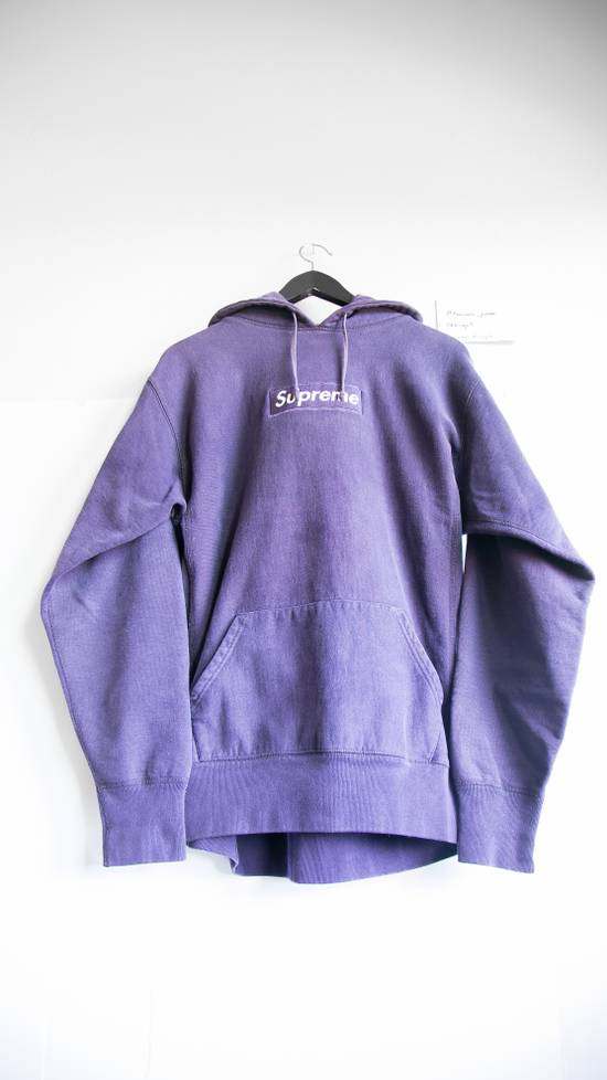 Supreme Purple on Purple Box Logo Hoodie 2002 Extremely Rare Size US L / EU 52-54 / 3 - 1