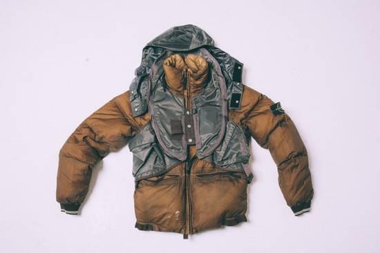 Stone Island Opaque Nylon Tela 30GR Down Jacket w/ Diagonal Cover Size US L / EU 52-54 / 3 - 1