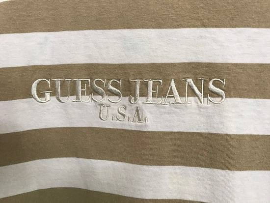 Vintage Vintage 90s Guess Jeans U.S.A. Embroidered Striped t shirt Asap Rocky Style Size US M / EU 48-50 / 2 - 1