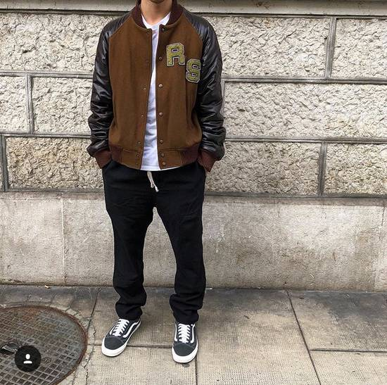 Raf Simons Virginia Creeper Brown Varsity Jacket Size US M / EU 48-50 / 2 - 2
