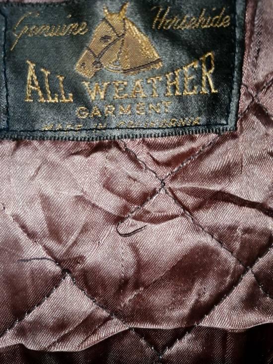 Vintage Vintage Genuine Househide All Weather Garment Jacket Size US M / EU 48-50 / 2 - 6
