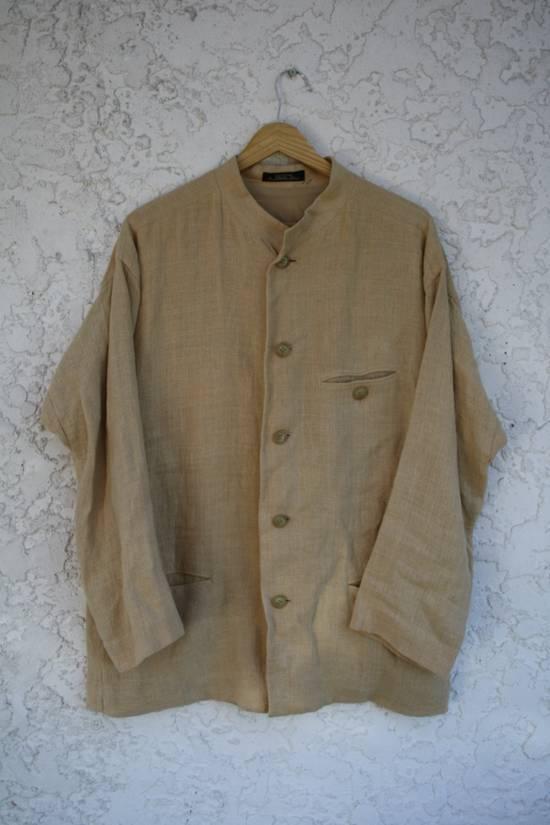 Issey Miyake Linen Mao Jacket Size US M / EU 48-50 / 2