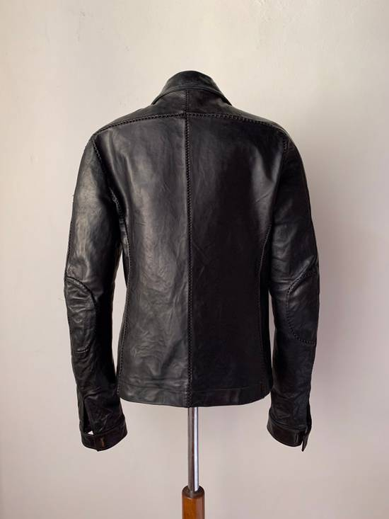 Carol Christian Poell CCP SS '07 Paranoid Collection - Overlock Leather Jacket Size US S / EU 44-46 / 1 - 5