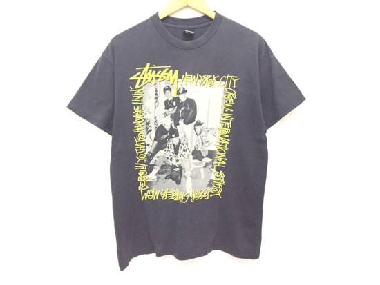 Vintage A piece of History picture New York Crew tee Size US L / EU 52-54 / 3 - 1