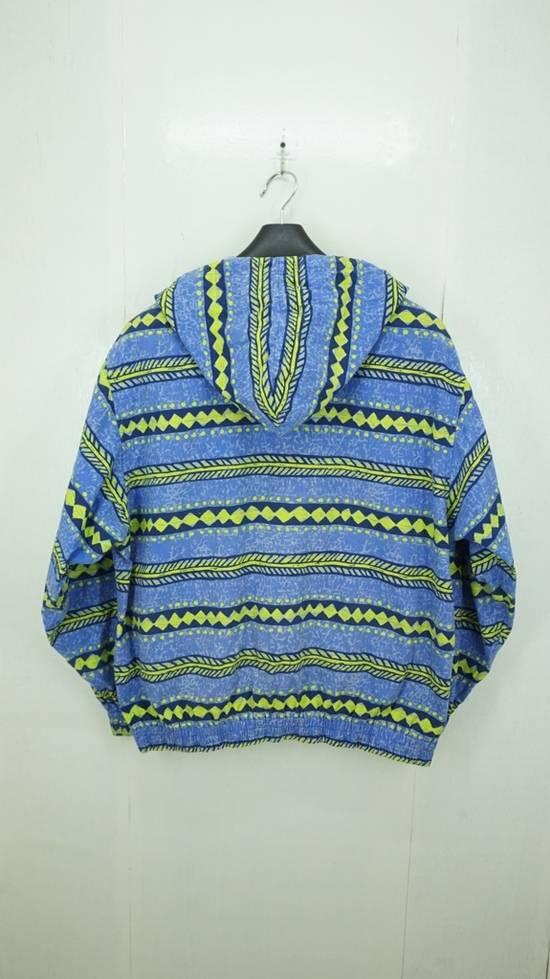 Japanese Brand Vintage Surf Festish California Striped Cotton Hooded Jacket Surf Skate Size US L / EU 52-54 / 3 - 2