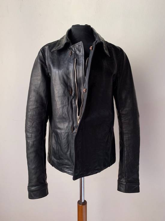 Carol Christian Poell CCP SS '07 Paranoid Collection - Overlock Leather Jacket Size US S / EU 44-46 / 1 - 2
