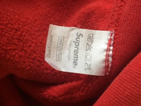 Supreme Supreme Red Box Logo Hoodie 2008 Size US L / EU 52-54 / 3 - 4