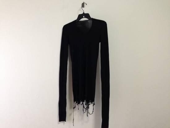 Julius Ribbed destroyed L/S shirt Size US S / EU 44-46 / 1
