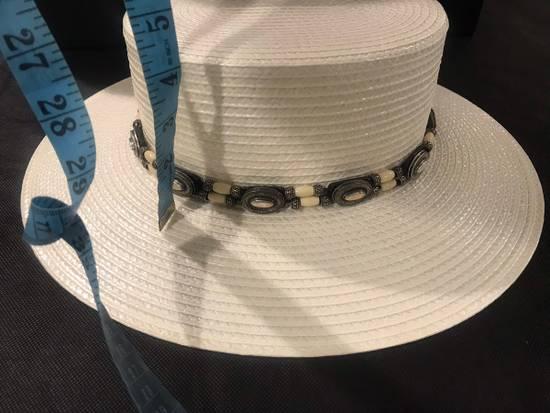 Saint Laurent Paris Saint Laurent men's western-style boater hat. 58/L. $2250 Size ONE SIZE - 10