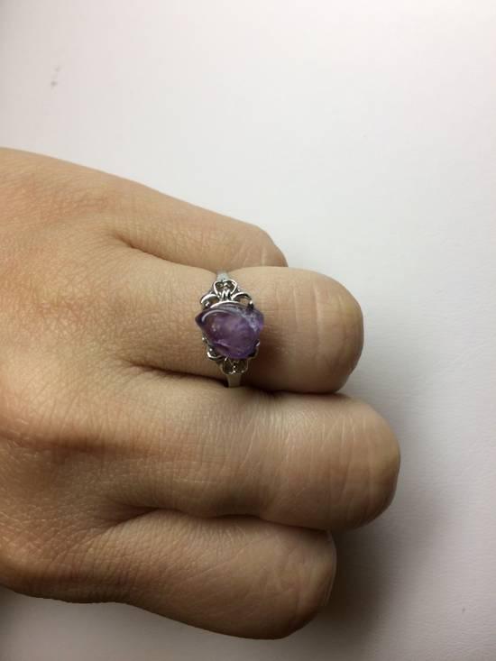 Handmade Amethyst stone ring - Size 7.75 Size ONE SIZE - 2