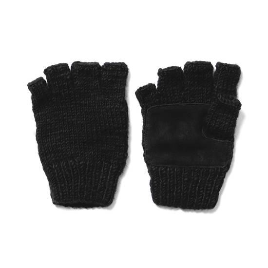 Haven Fingerless Gloves - Handknit Cashmere Size ONE SIZE - 2
