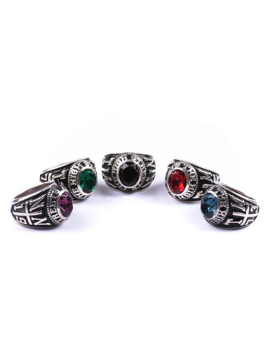 Number (N)ine AW05 Infinity Stones THS Championship Class 5x Ring Set Size ONE SIZE