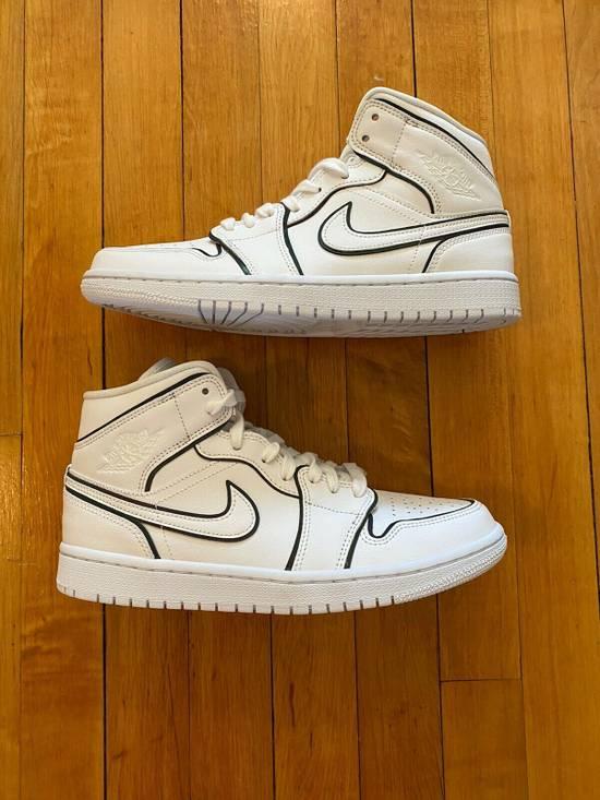 Nike Womens Nike Air Jordan 1 Mid Se Iridescent Trim Eu40 Grailed