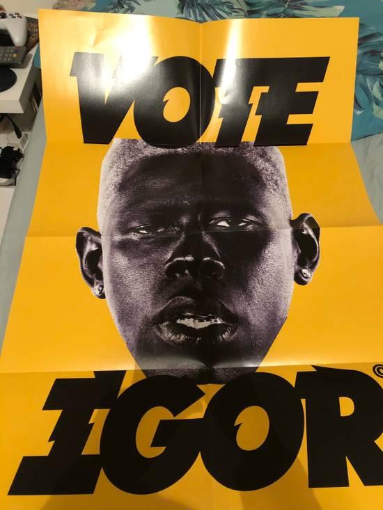 Golf Wang Vote Igor Yellow Poster   Grailed