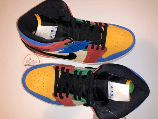 Nike Nike Air Jordan 1 Mid Fearless Blue The Great Grailed