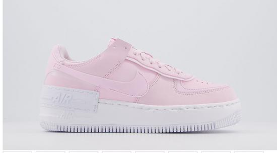 Nike Pink Foam Nike Air Force 1 Shadow W Low Top Sneakers Grailed