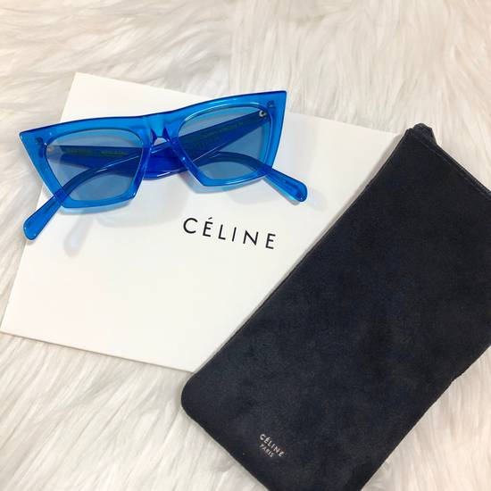Celine Céline Edge Sunglasses Size ONE SIZE - 1